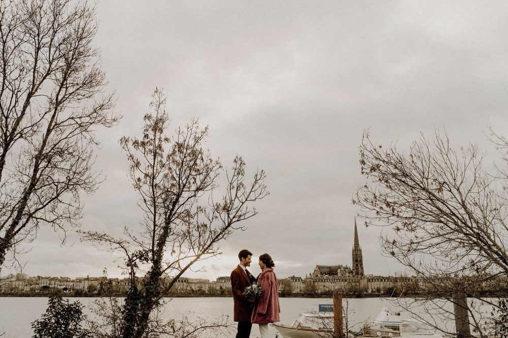 Adeline et Lionel – Un mariage d'hiver en centre ville à Bordeaux