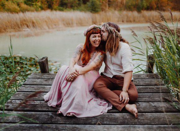 Amélie et Samuel – Un mariage participatif à la maison